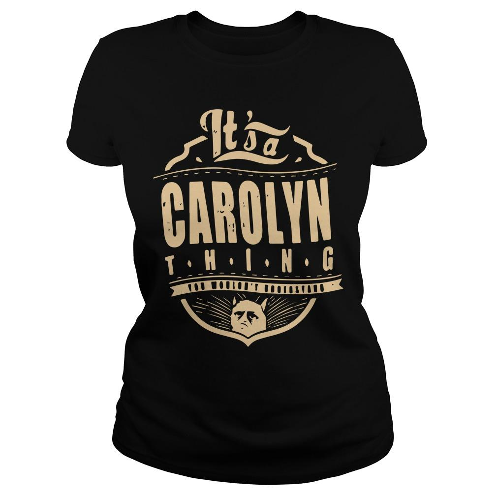 It's A Carolyn Thing Longsleeve