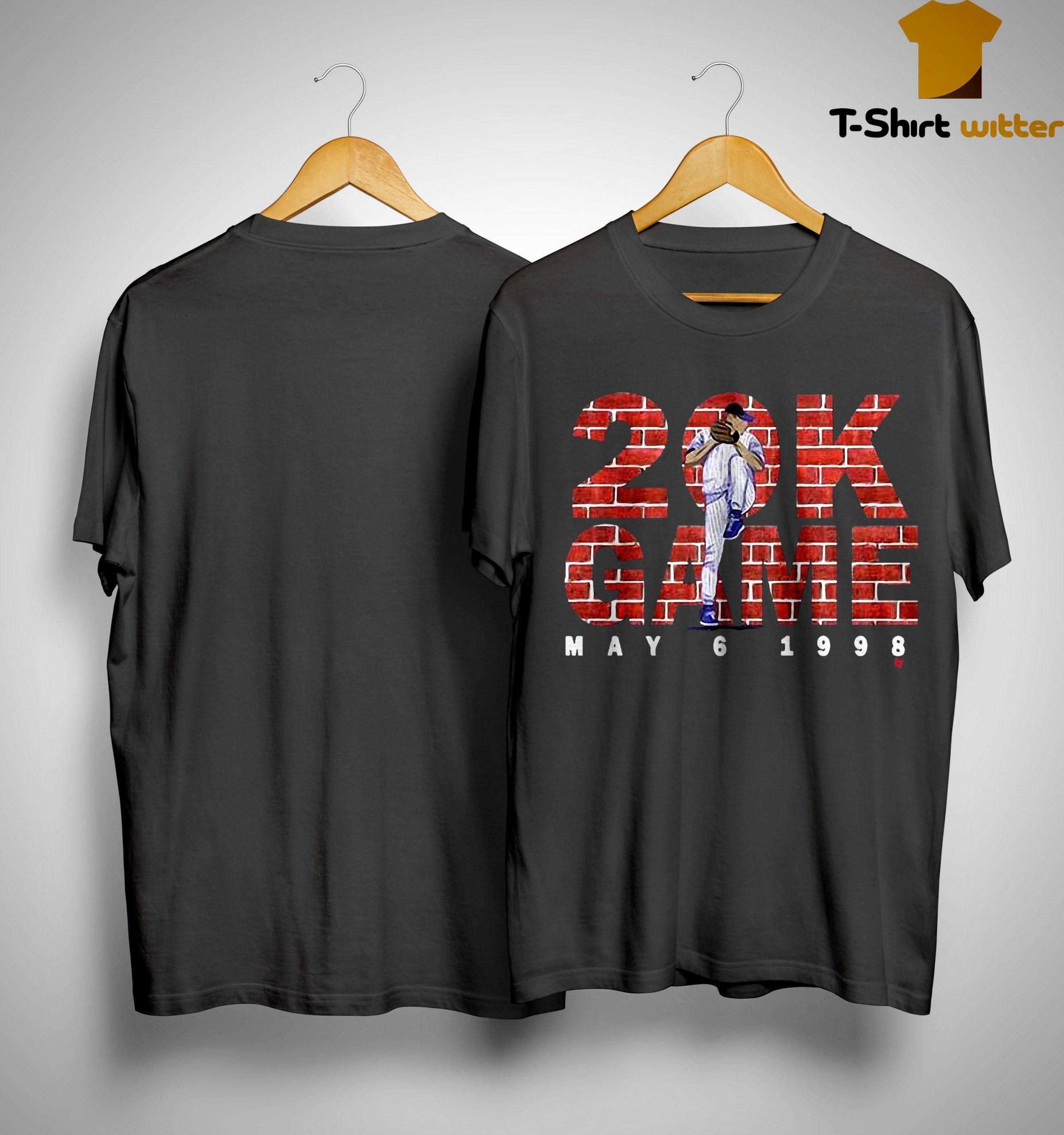 Kerry Wood 20 K Game Shirt