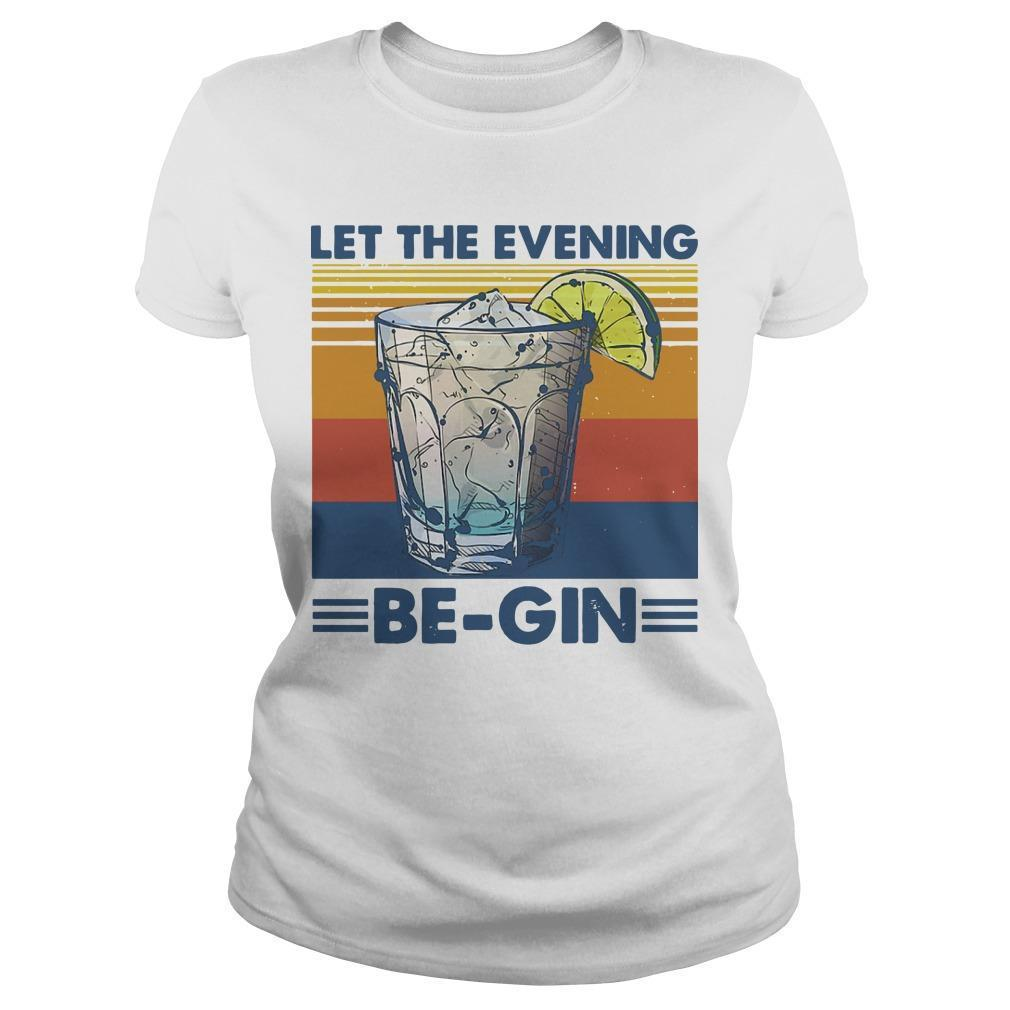 Let The Evening Be Gin T Longsleeve