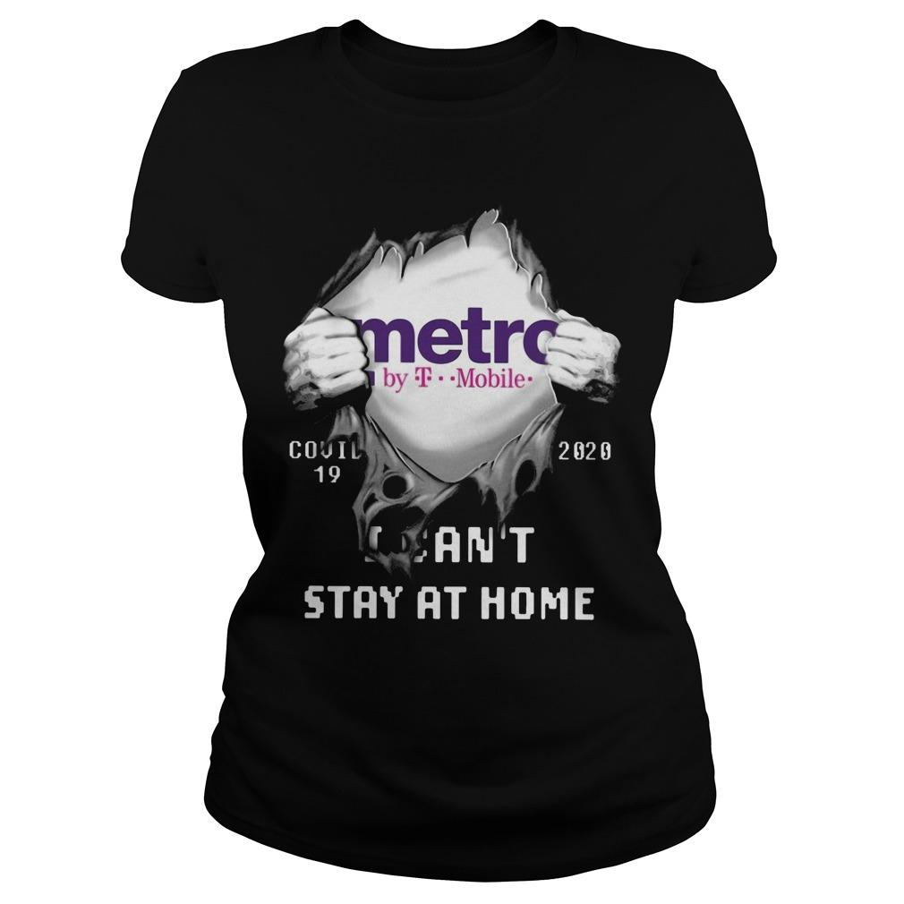 Metro By T Mobile Covid 19 2020 I Can't Stay At Home Longsleeve