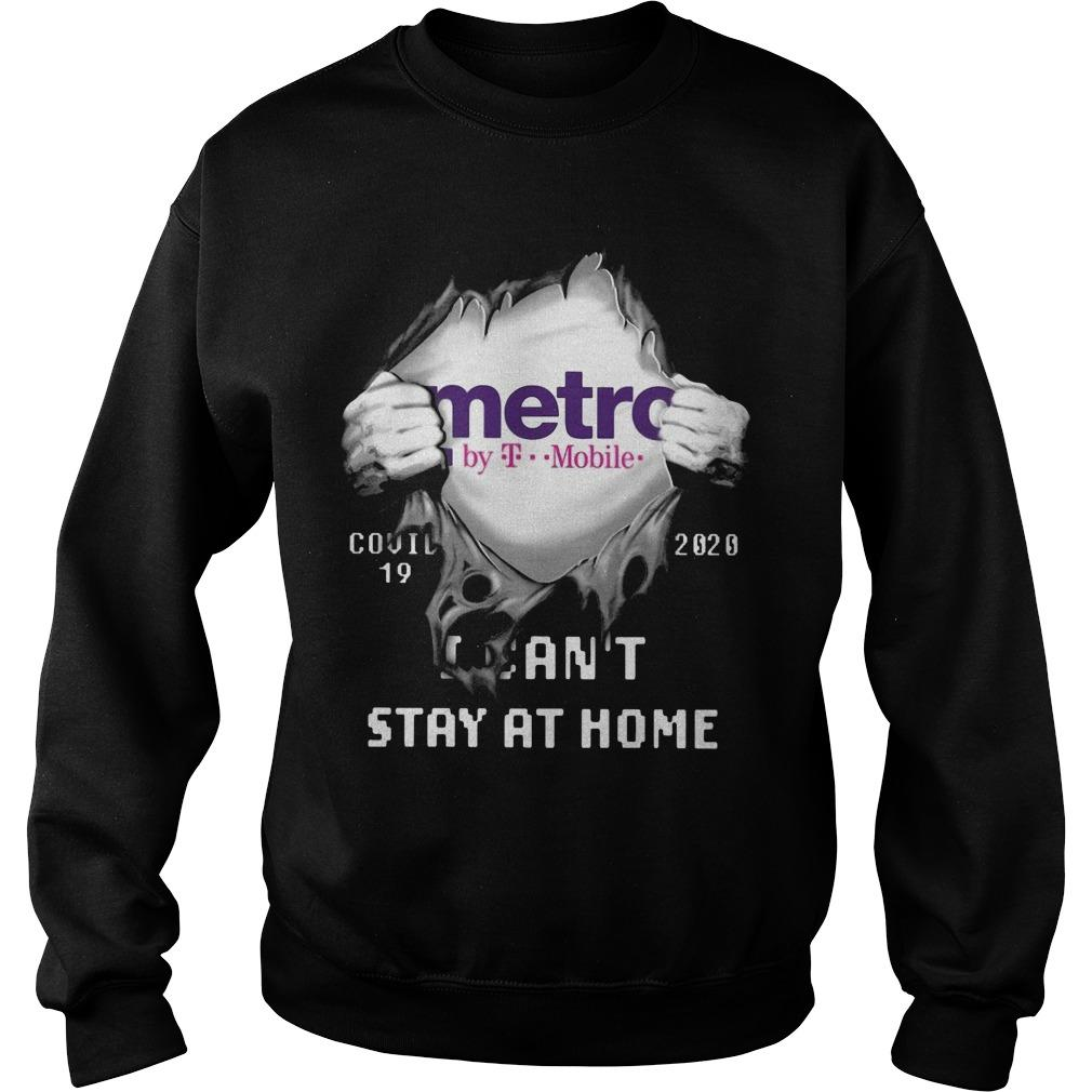 Metro By T Mobile Covid 19 2020 I Can't Stay At Home Sweater