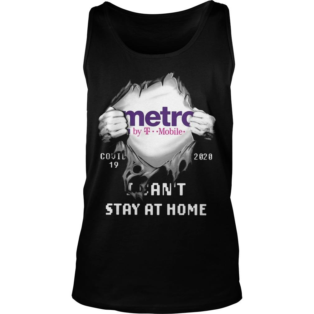 Metro By T Mobile Covid 19 2020 I Can't Stay At Home Tank Top