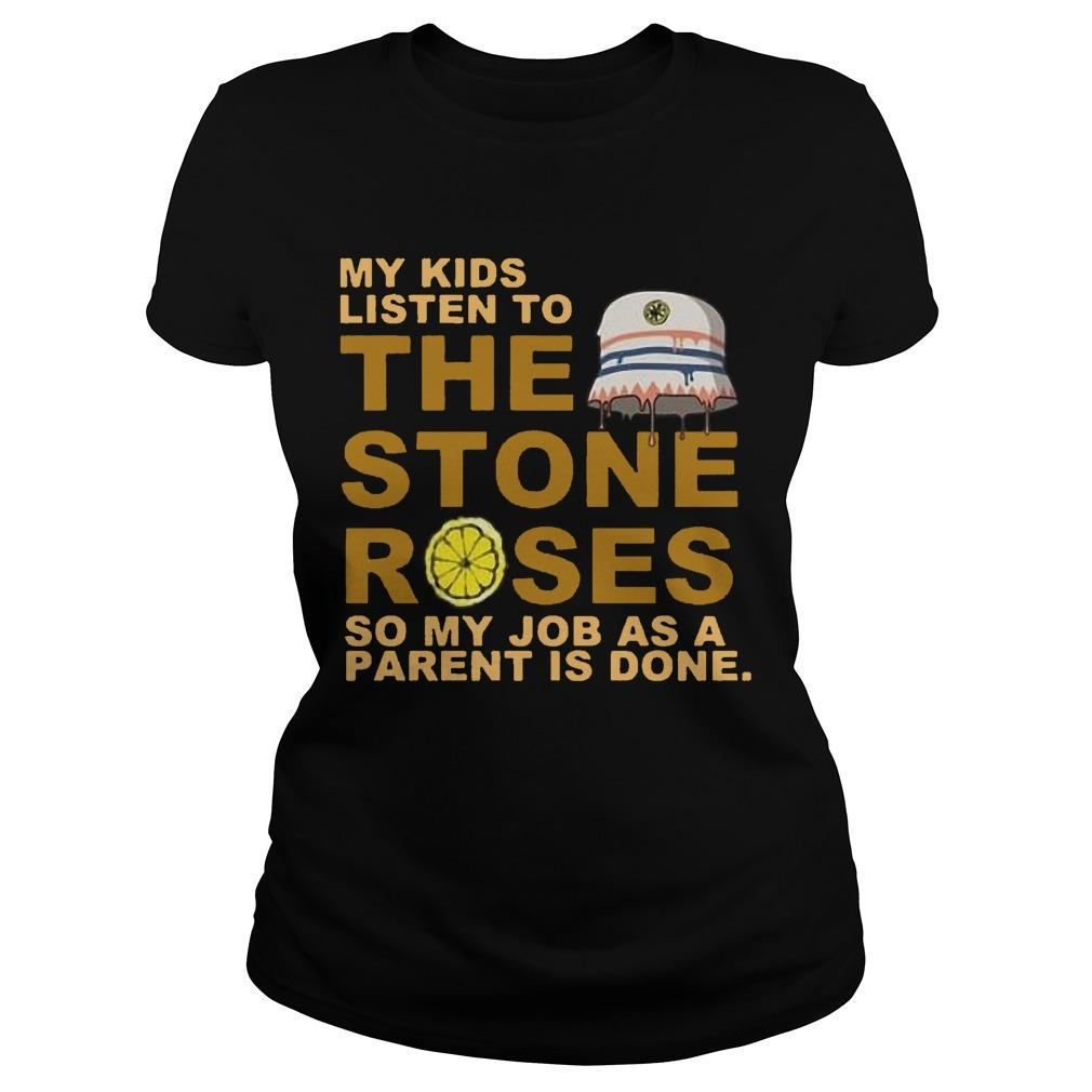 My Kids Listen To The Stones Roses So My Job As A Parent Is Done Longsleeve
