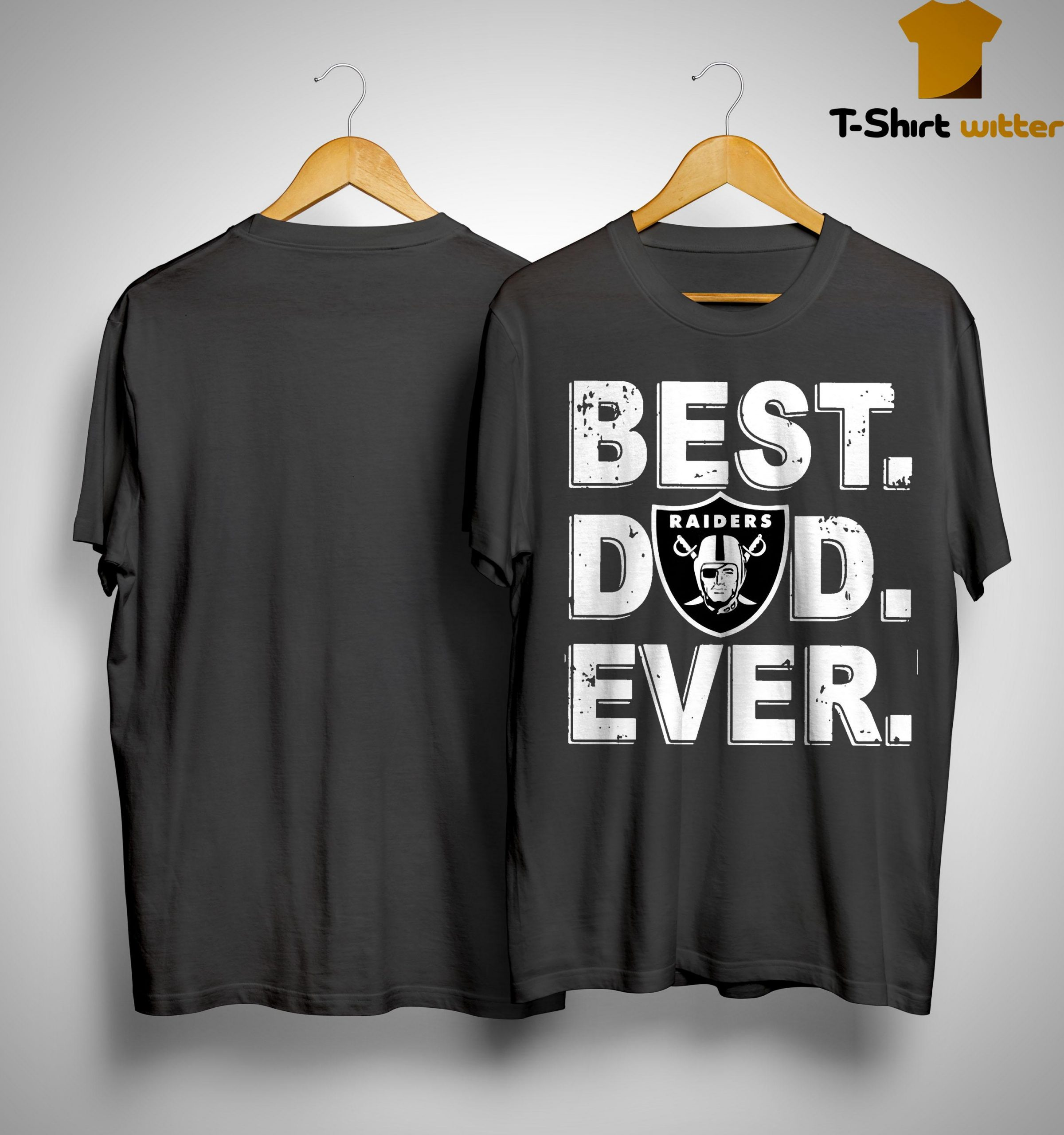 Oakland Raiders Best Dad Ever Shirt