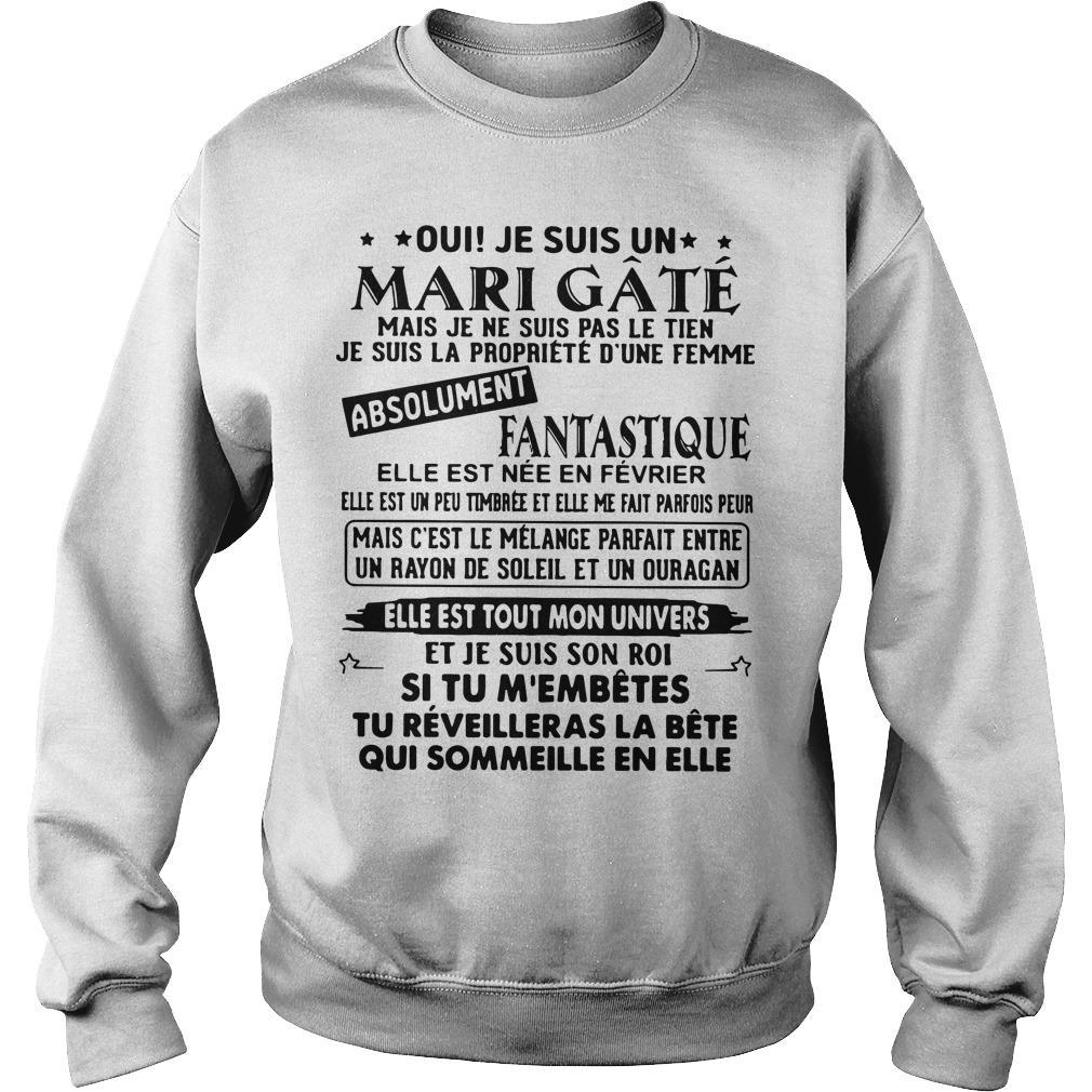 Oui Je Suis Un Mari Gâté Absolument Fantastique Sweater