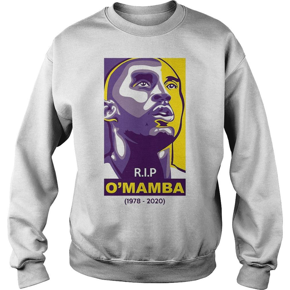 Rip O'mamba 1978 2020 Kobe Bryant T Sweater
