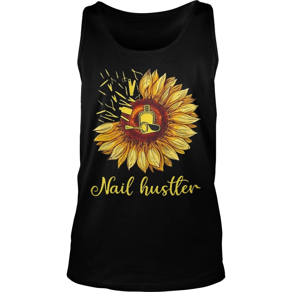 Sunflower Nail Hustler Tank Top