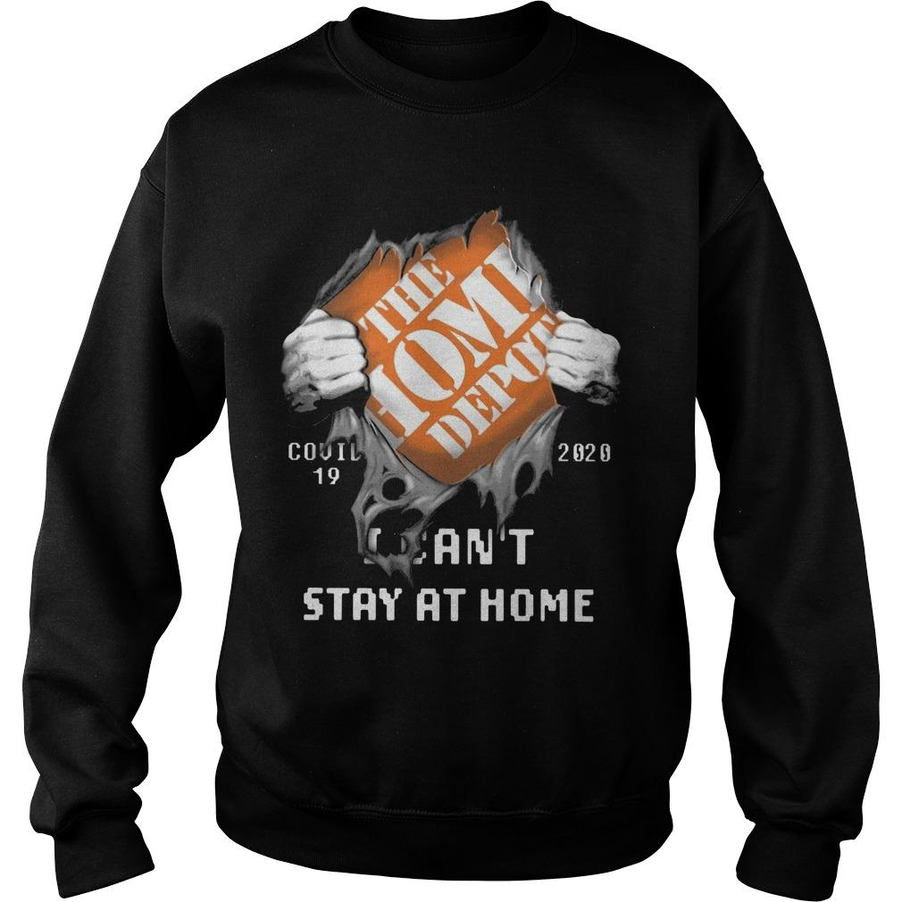The Home Depot Covid 19 2020 I Can't Stay At Home Sweater