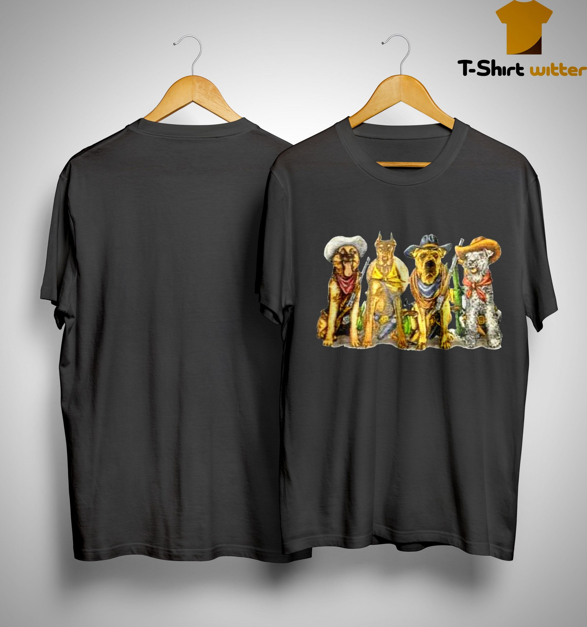 Vintage 1990s Cowboy Dogs Corpus Christi Shirt