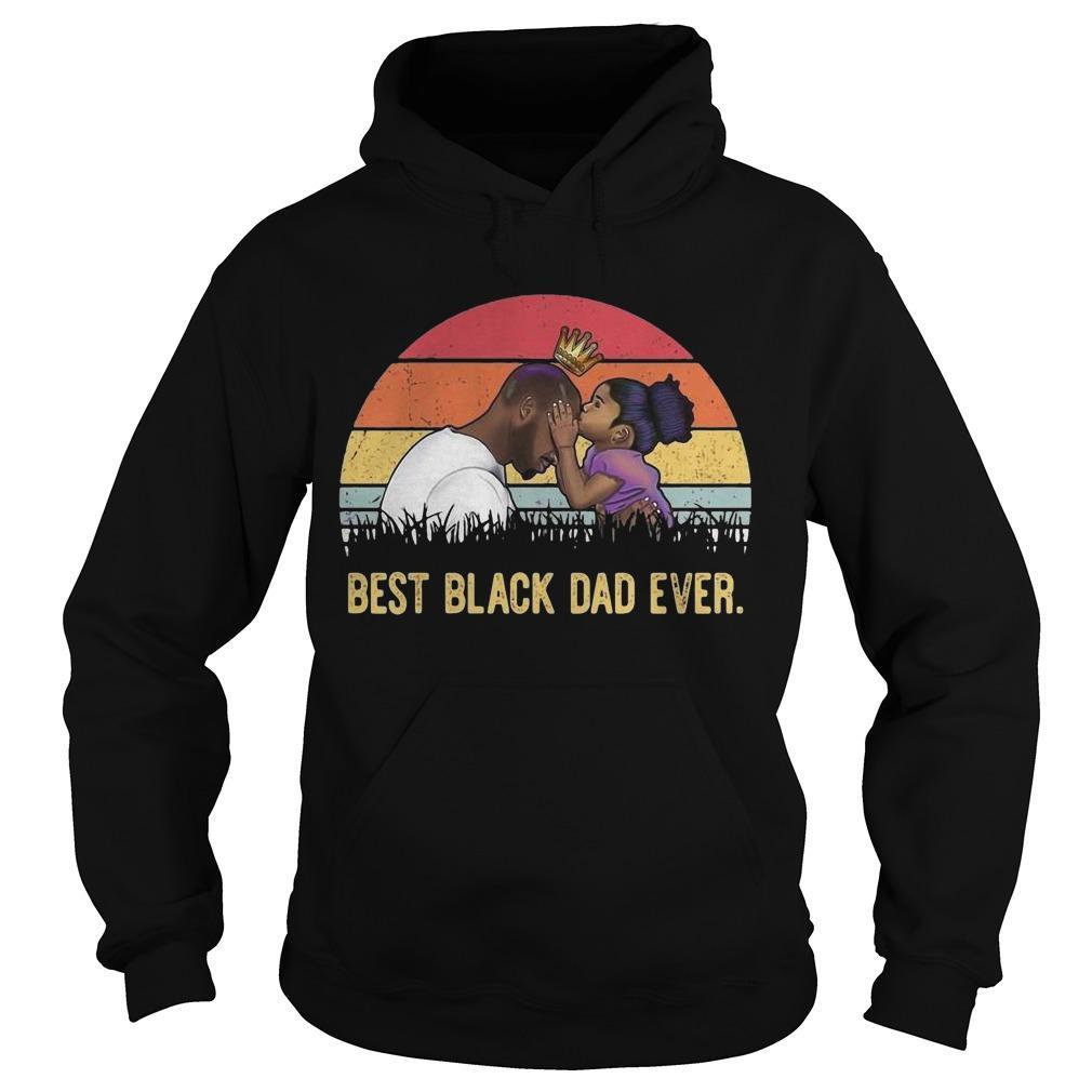 Vintage Best Black Dad Ever Hoodie
