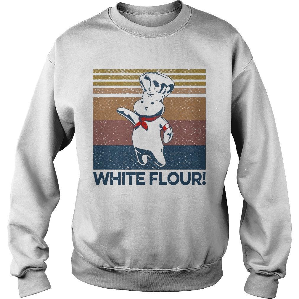Vintage White Flour Sweater