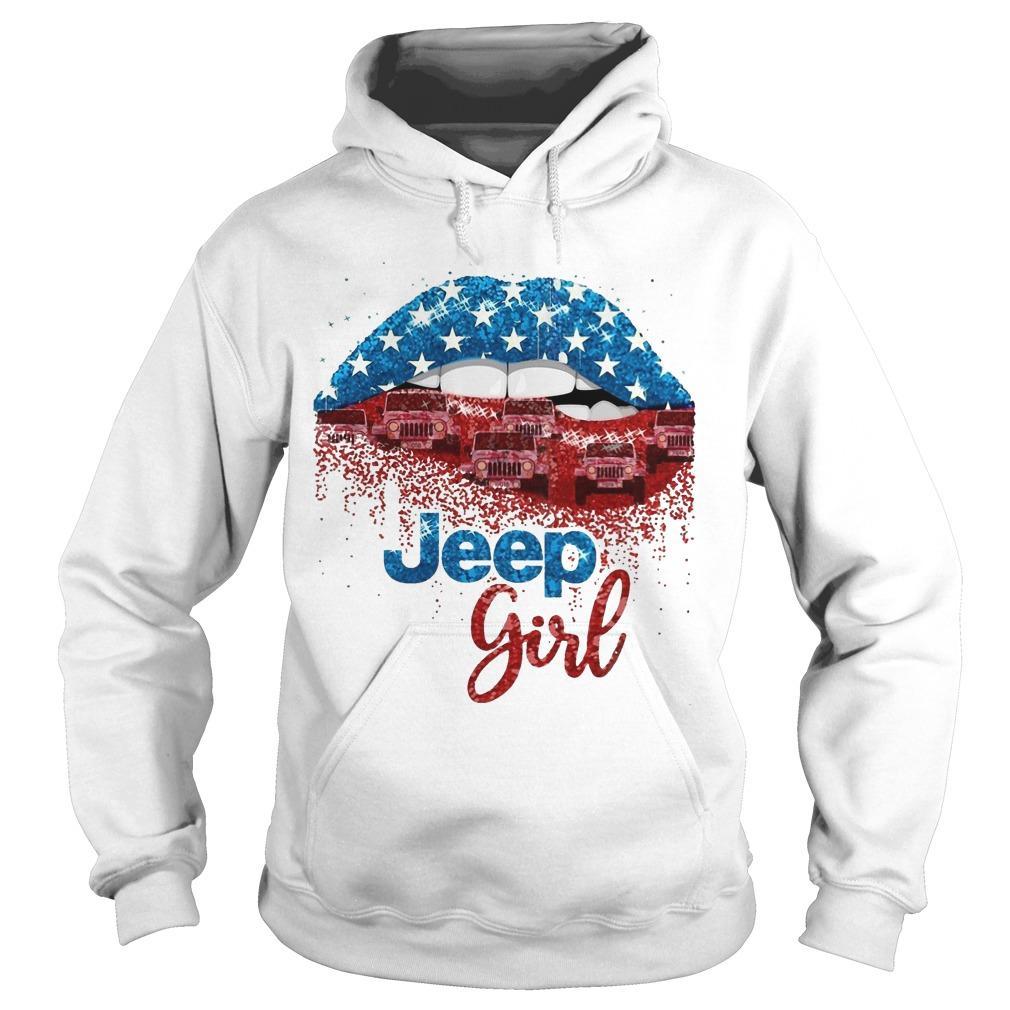 American Lip Jeep Girl Hoodie