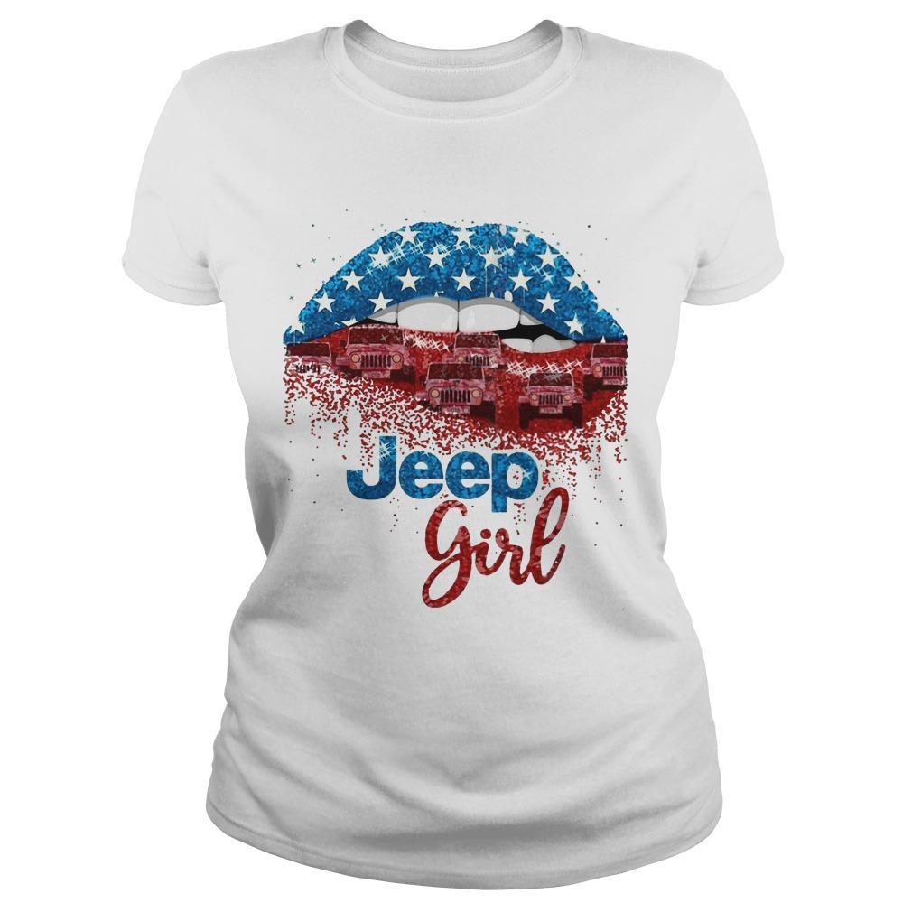 American Lip Jeep Girl Longsleeve