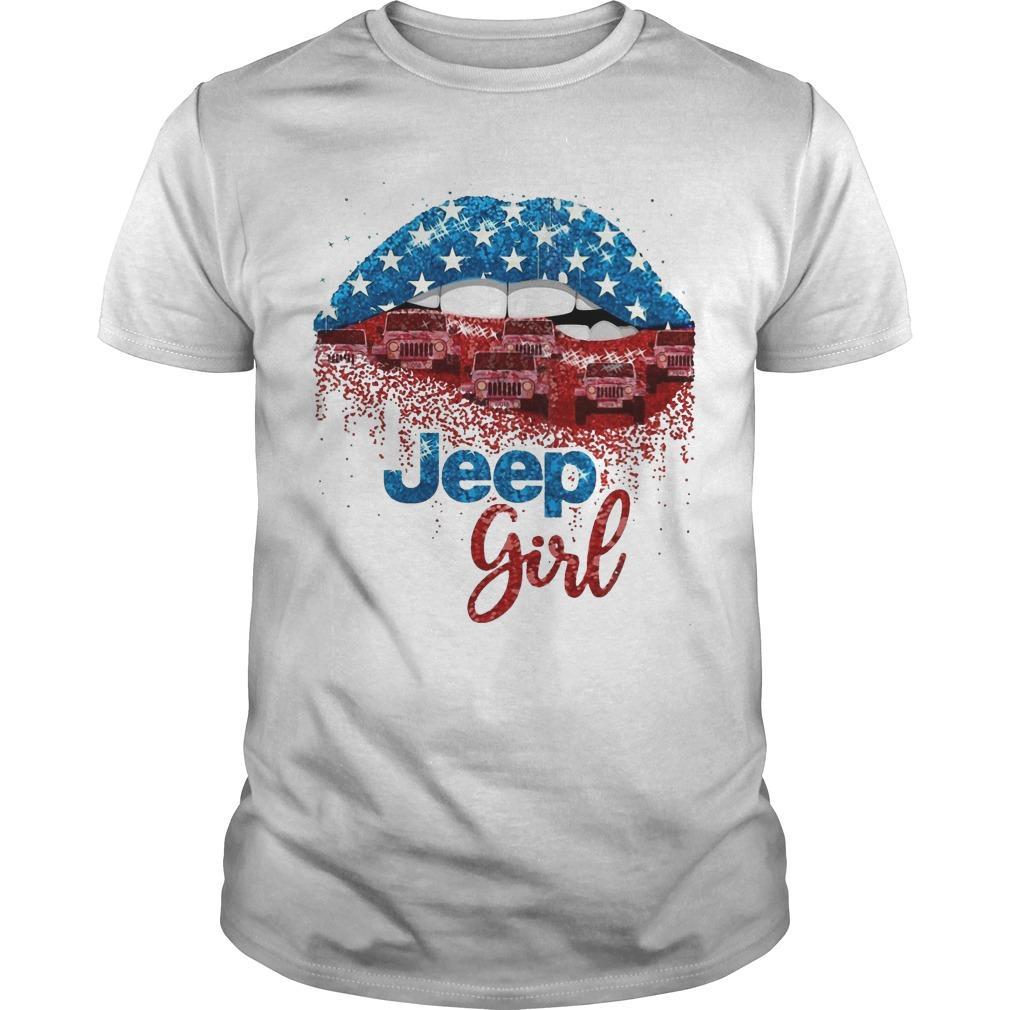 American Lip Jeep Girl Shirt