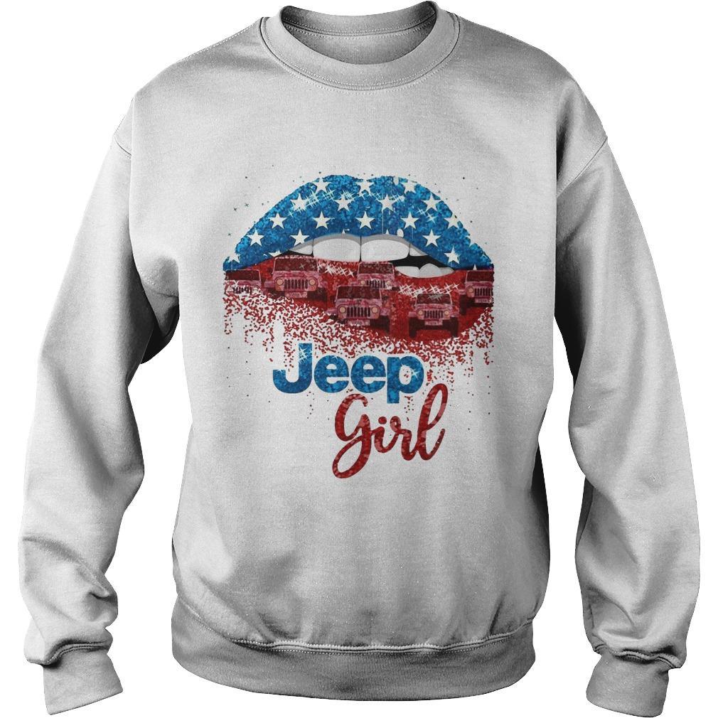 American Lip Jeep Girl Sweater