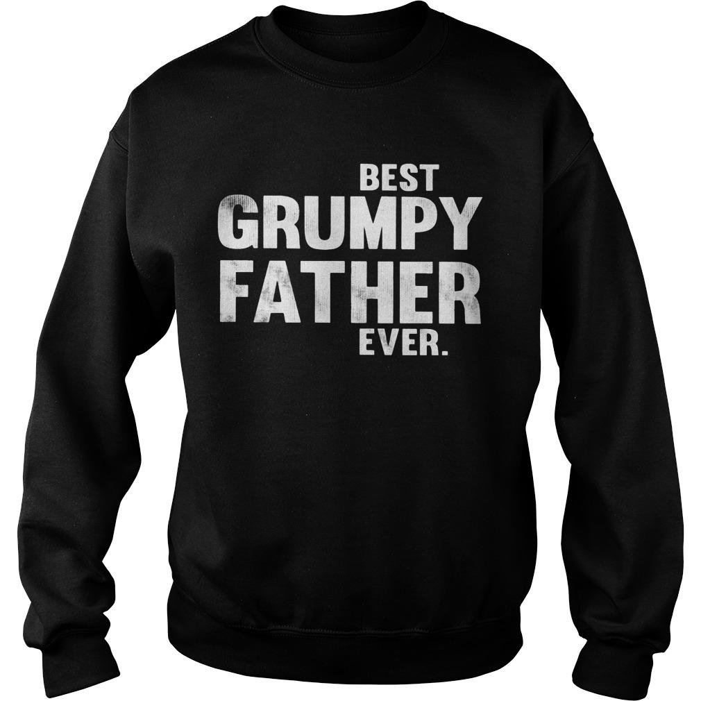 Best Grumpy Father Ever Sweater