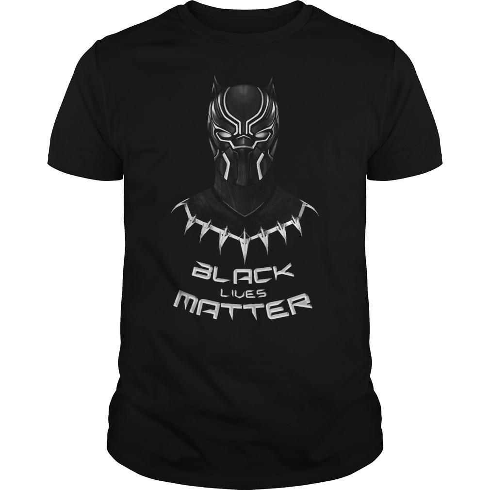 Black Panther Black Lives Matter Shirt