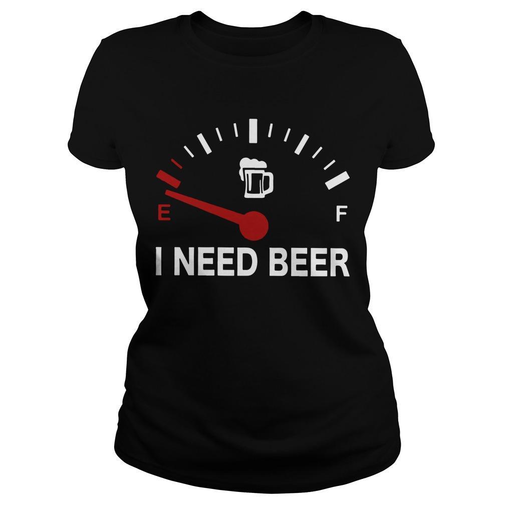 E F I Need Beer Longsleeve