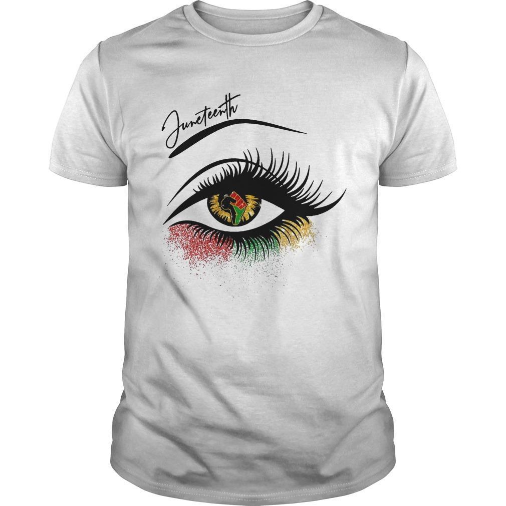 Eye Strong Hand Juneteenth Shirt