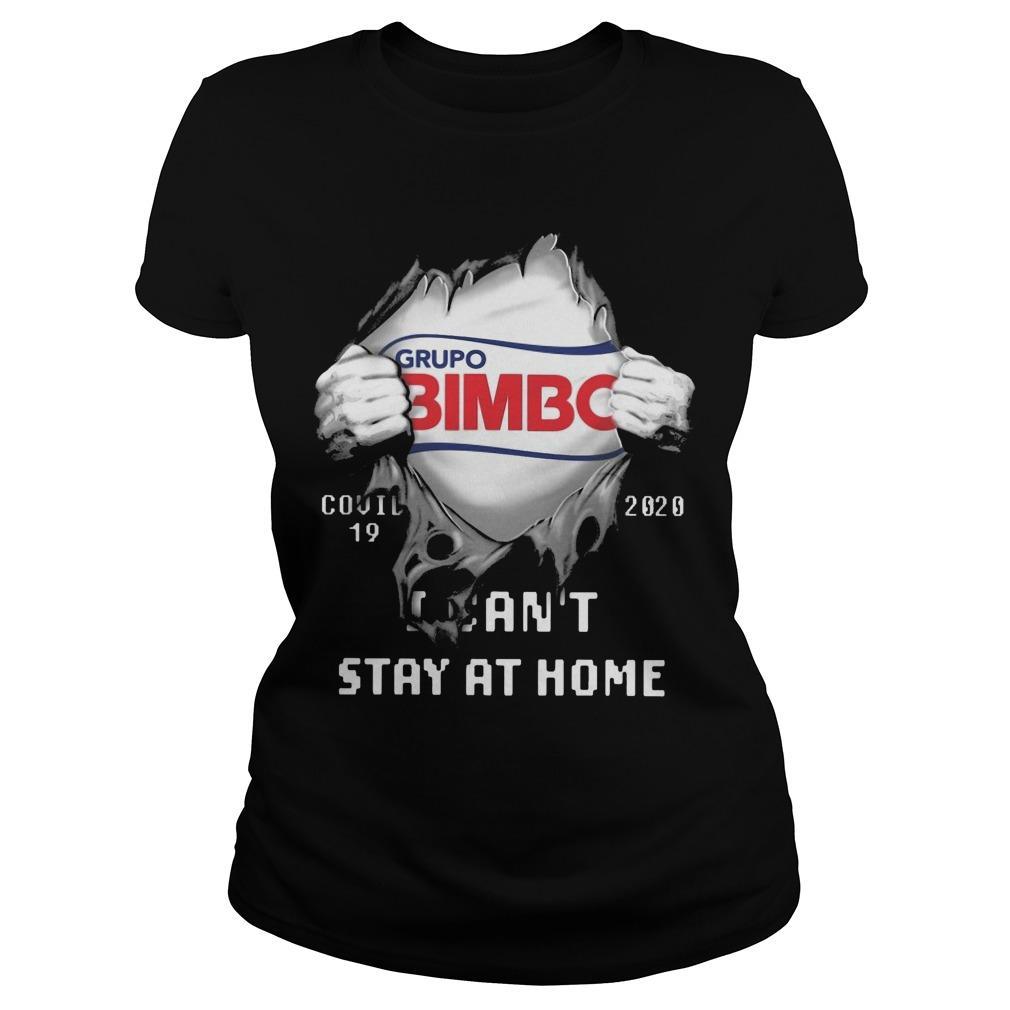 Grupo Bimbo Covid 19 2020 I Can't Stay At Home Longsleeve