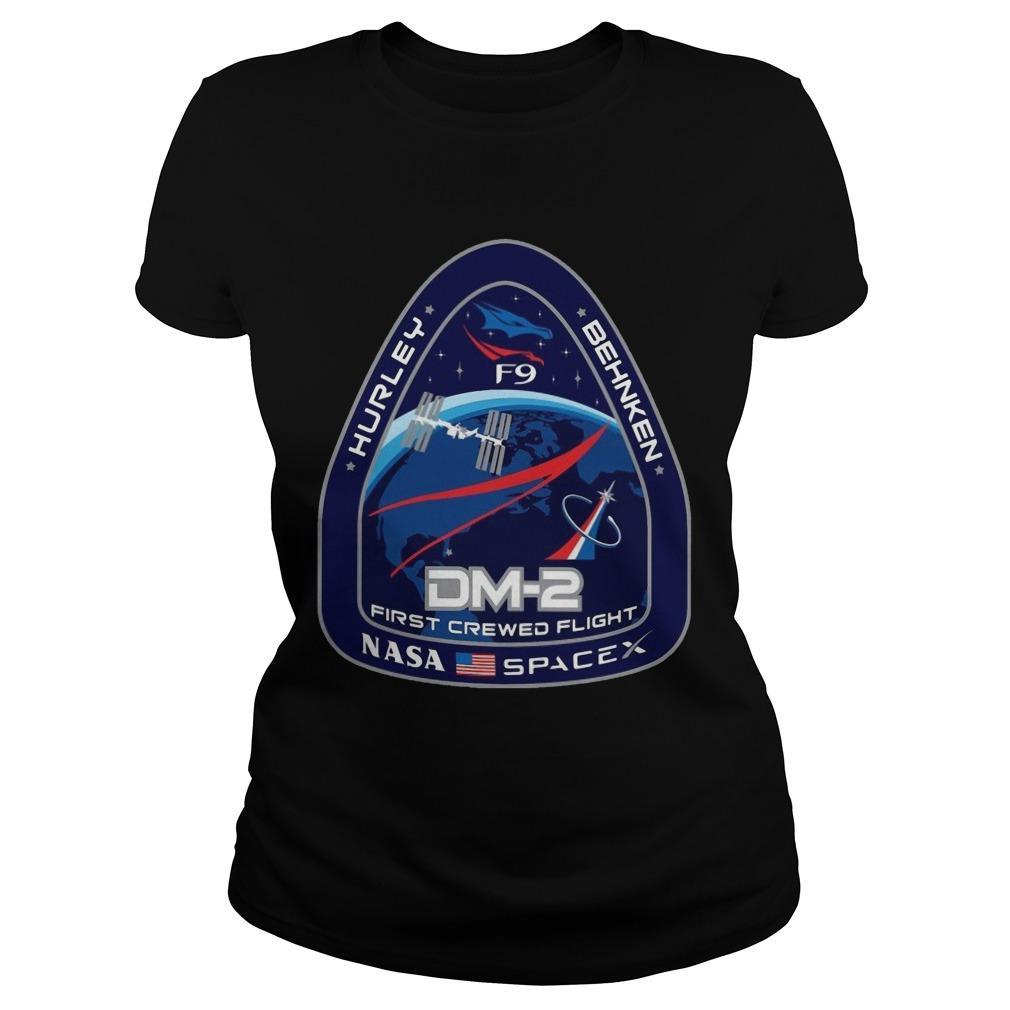 Nasa Spacex Hurley Behnken Dm2 First Crewed Flight Longsleeve