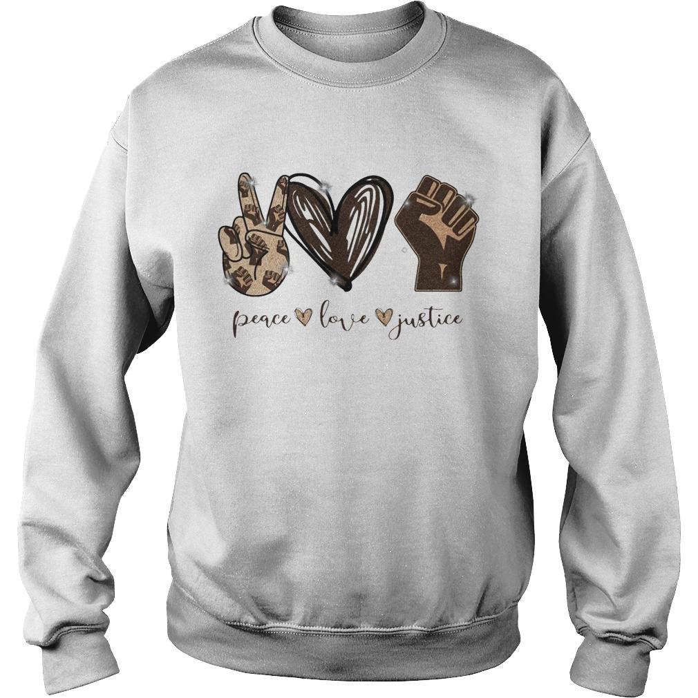 Peace Love Justice Sweater