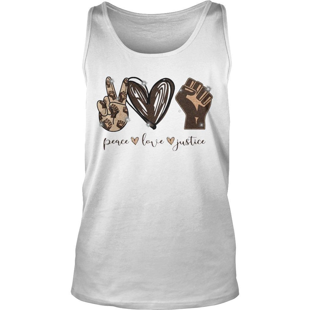 Peace Love Justice Tank Top