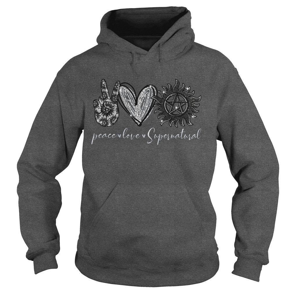Peace Love Supernatural Hoodie