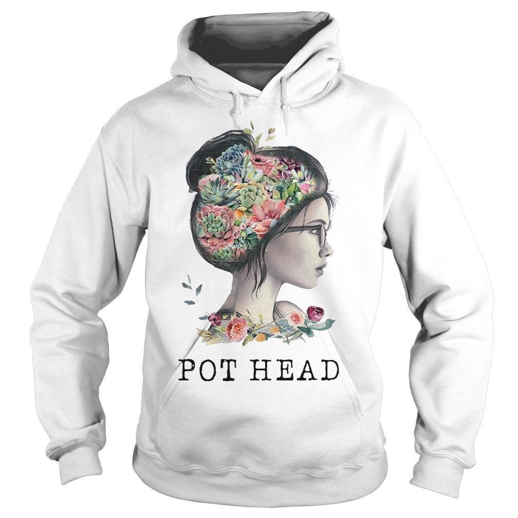 The Garden Girl Pot Head Hoodie