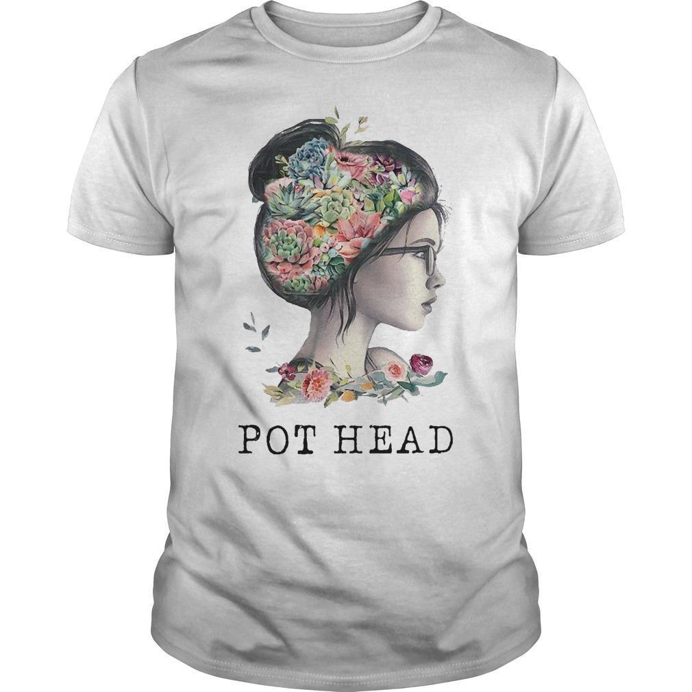 The Garden Girl Pot Head Shirt