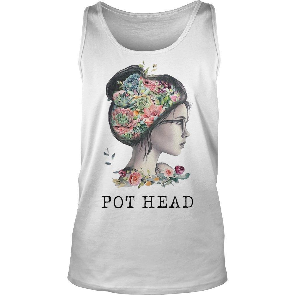 The Garden Girl Pot Head Tank Top