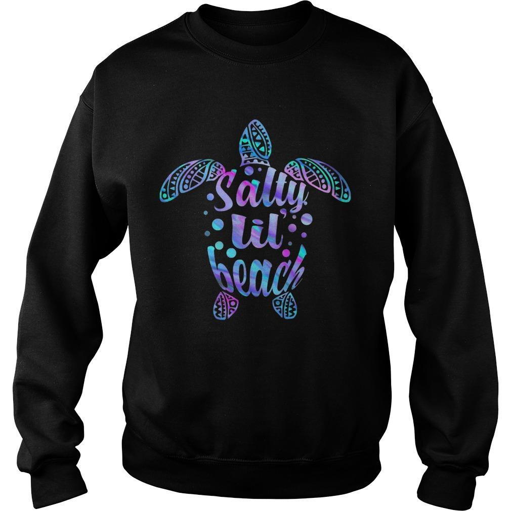 Turtles Salty Lil' Beach Sweater