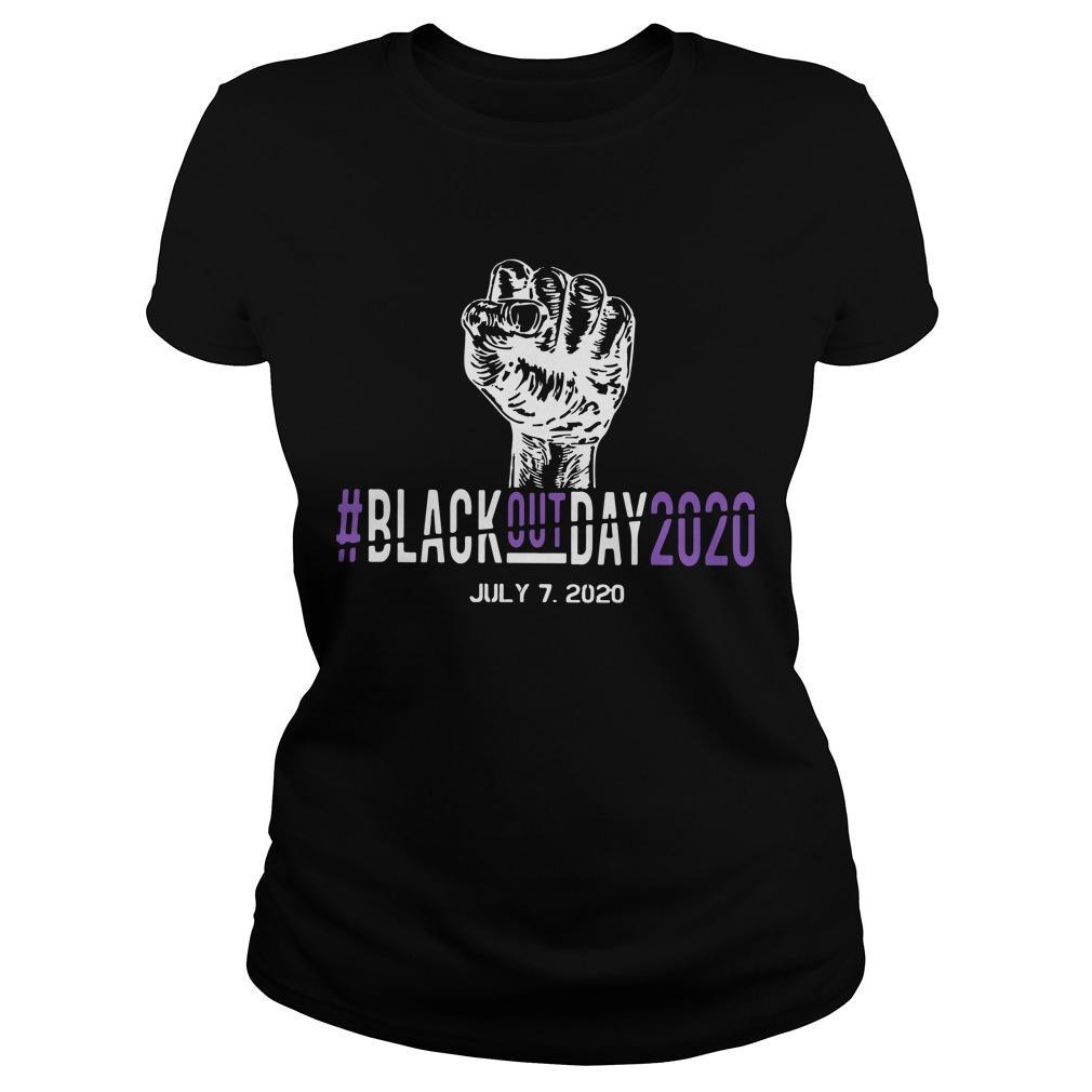 #blackoutday2020 July 7 2020 Longsleeve