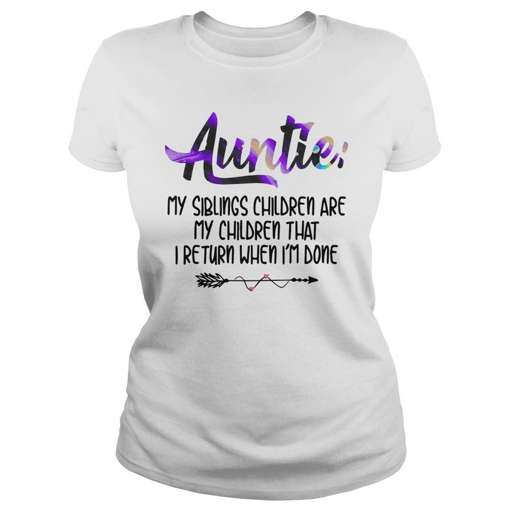 Auntie My Siblings Children Are My Children Longsleeve