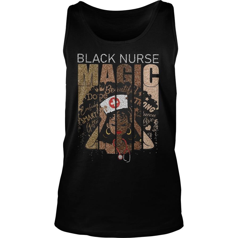 Black Nurse Magic Beautiful Dope Strong Smart Tank Top