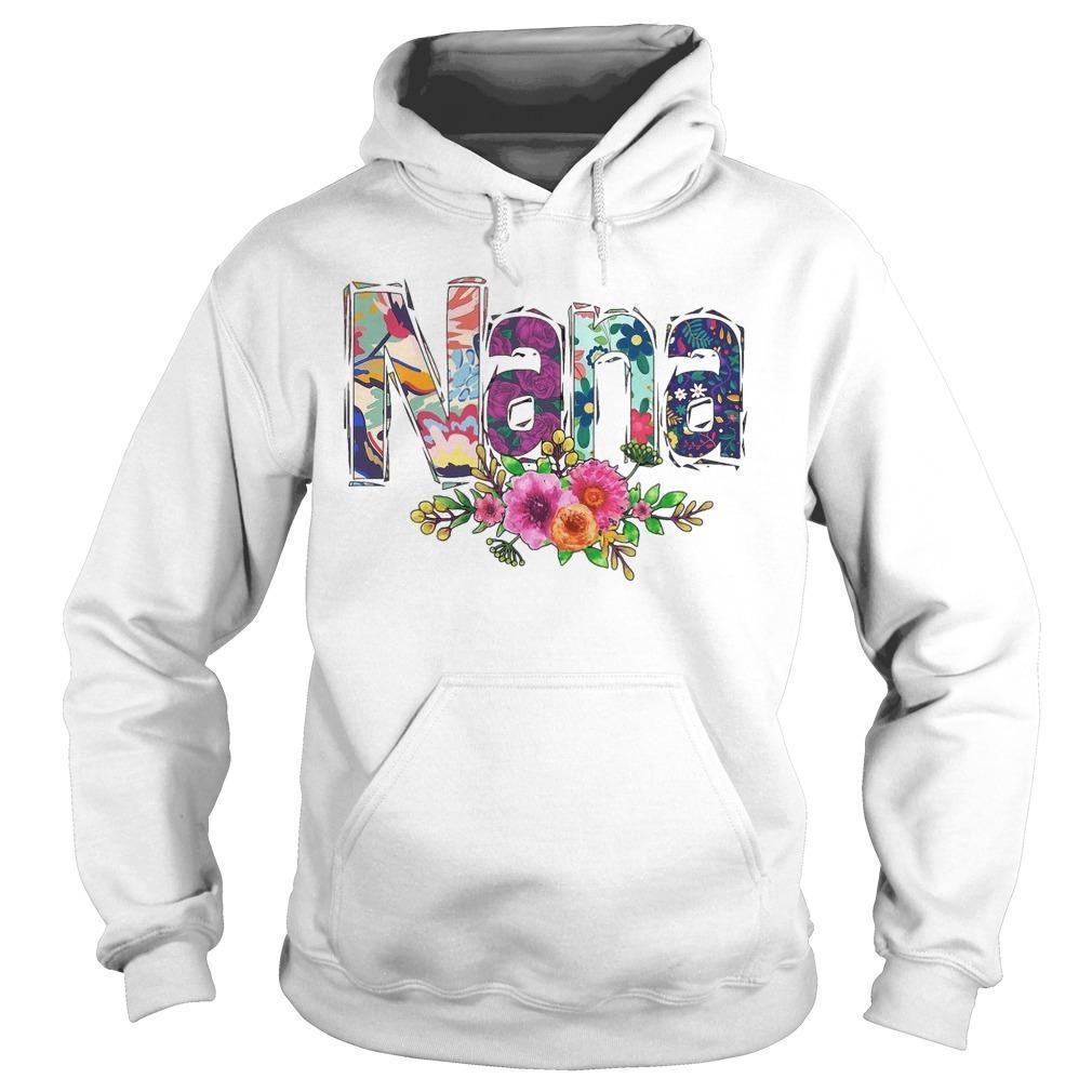Flower Art Nana Hoodie