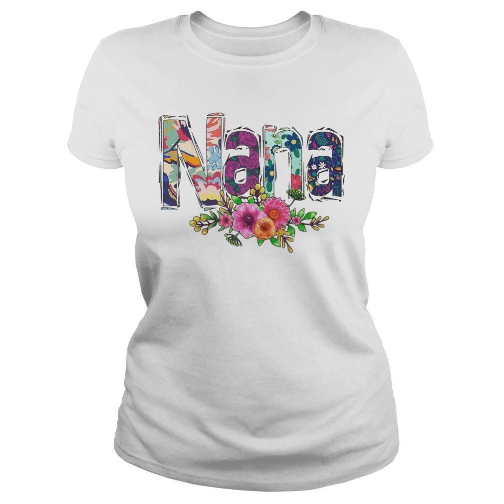 Flower Art Nana Longsleeve