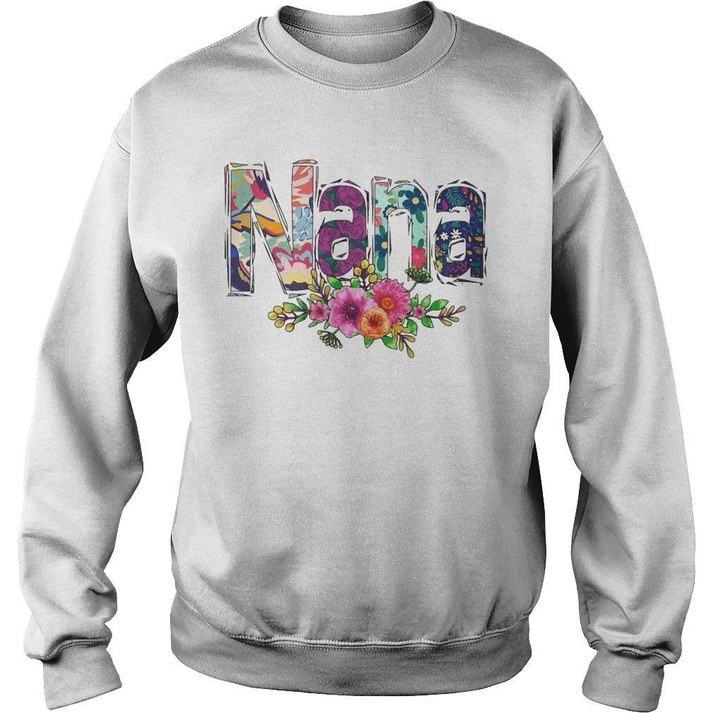 Flower Art Nana Sweater