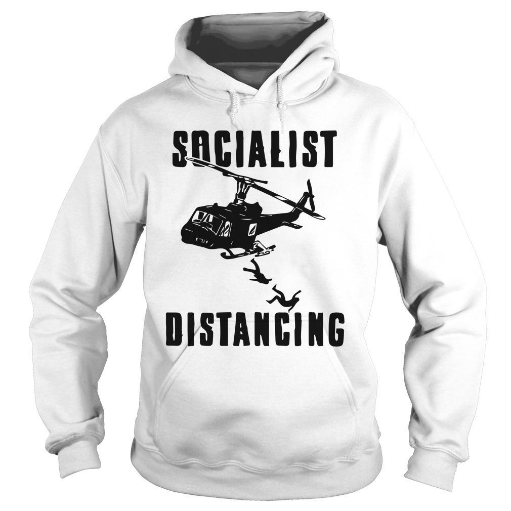 Helicopter Socialist Distancing Hoodie