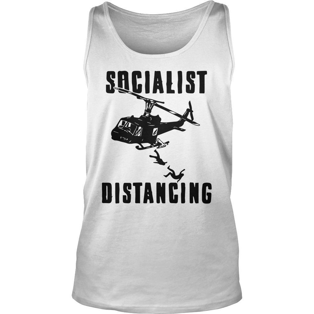 Helicopter Socialist Distancing Tank Top