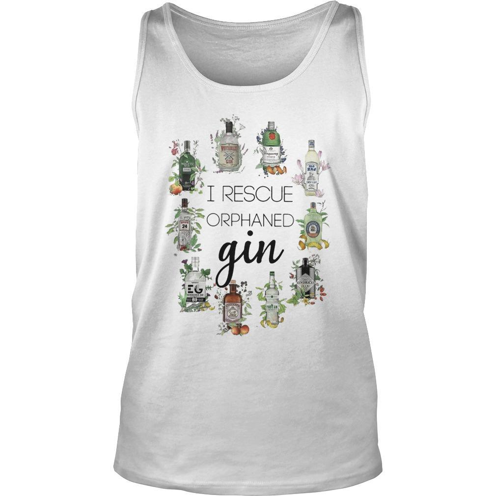 I Rescue Orphaned Gin Tank Top