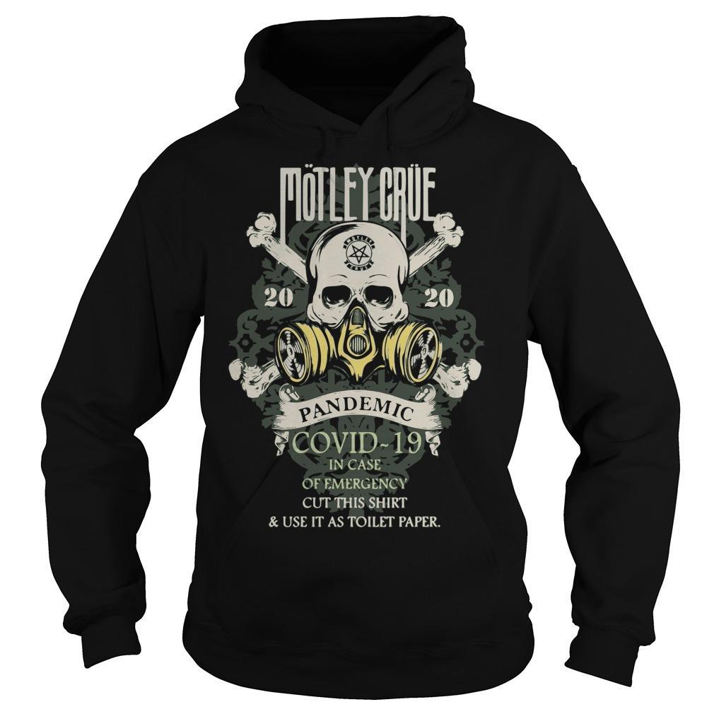 Motley Crue 2020 Pandemic Covid 19 Hoodie