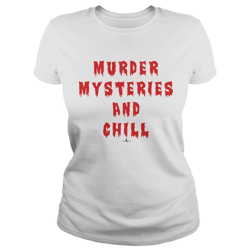 Murder Mysteries And Chill Longsleeve