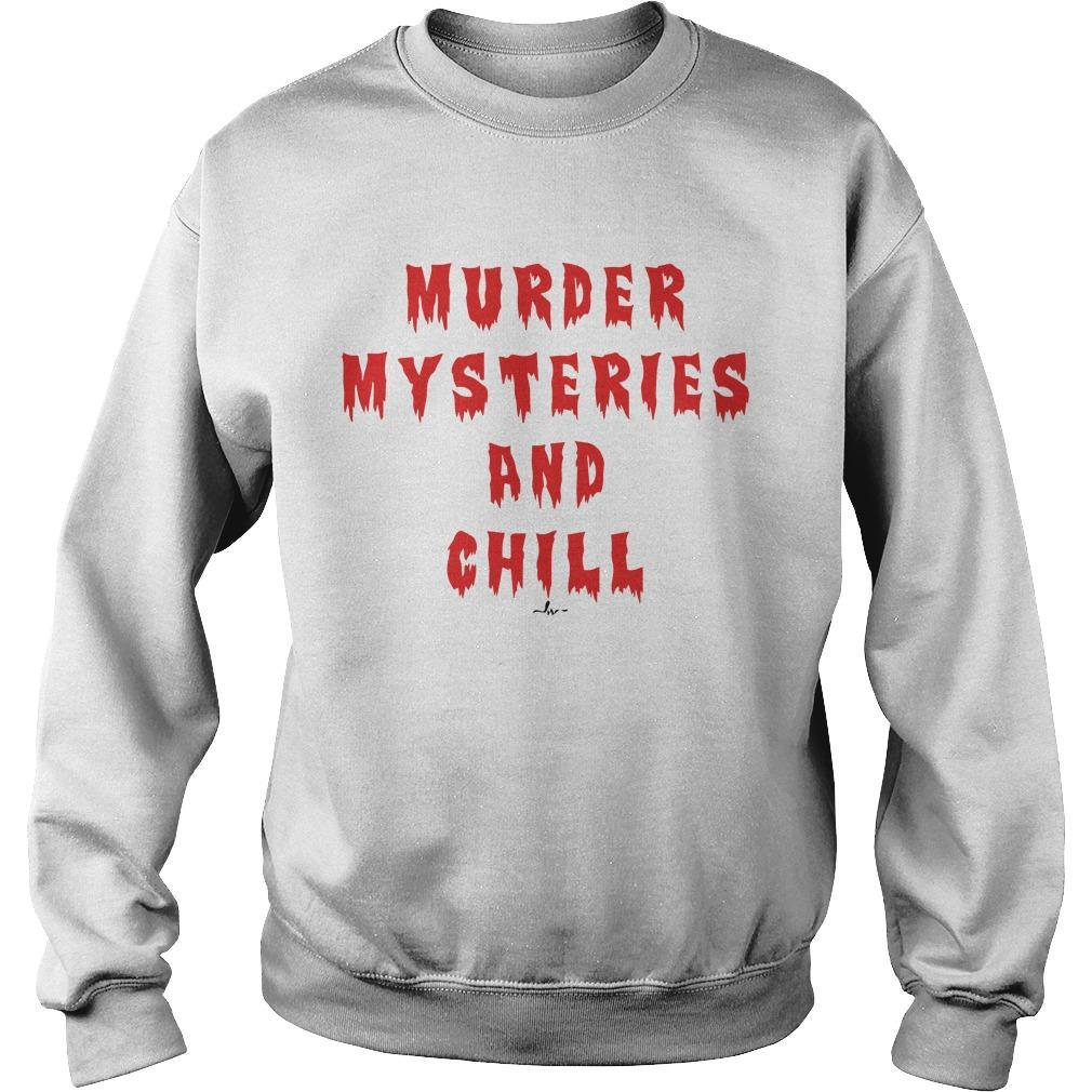 Murder Mysteries And Chill Sweater