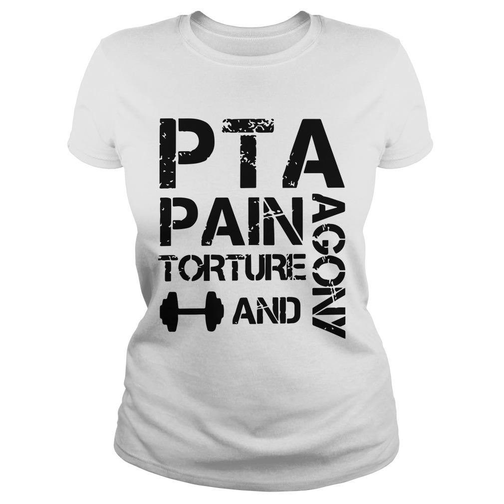 Pta Pain Torture And Agony Tank Top