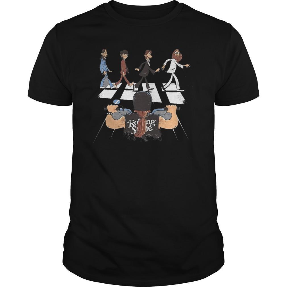 Rolling Stone Walking Cross Shirt