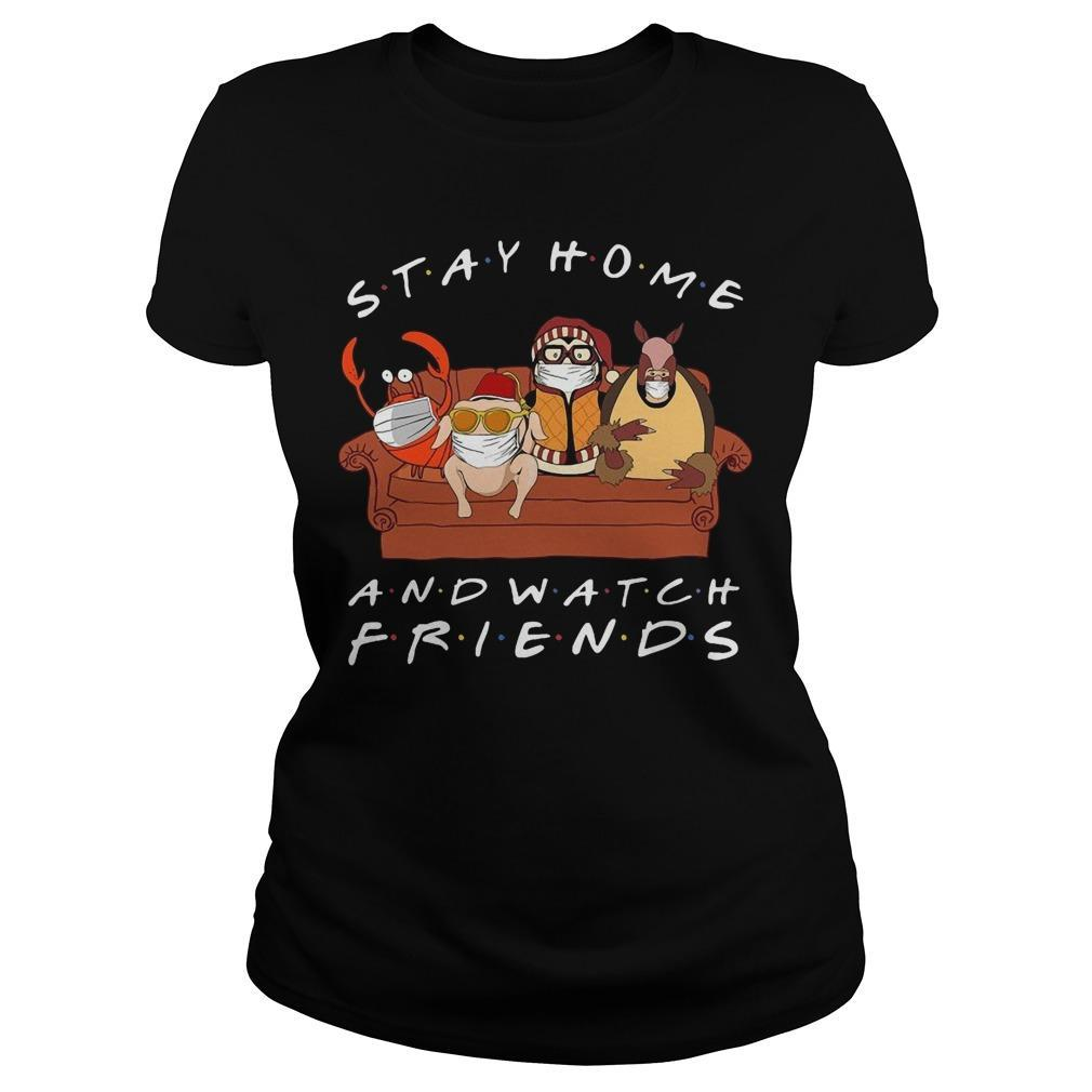 Stay Home And Watch Friends Longsleeve
