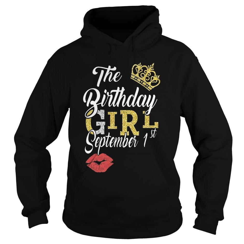 The Birthday Girl September 1st Hoodie