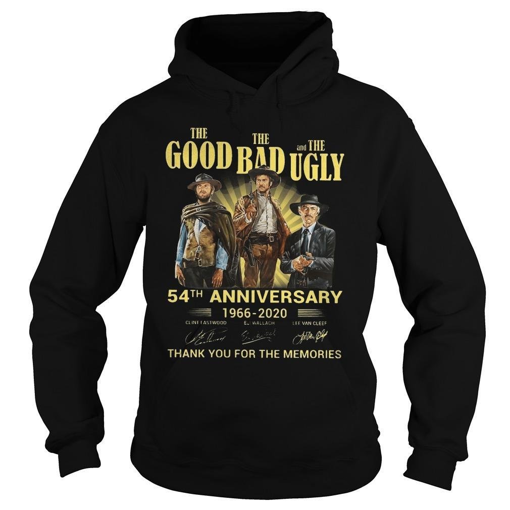 The Good The Bad And The Ugly 54th Anniversary Hoodie