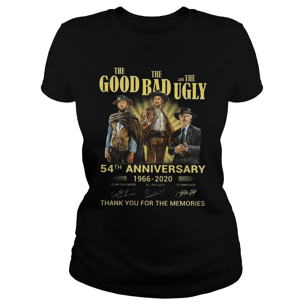 The Good The Bad And The Ugly 54th Anniversary Longsleeve